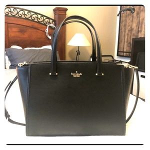 Kate Spade Large Geraldine Leather Handbag